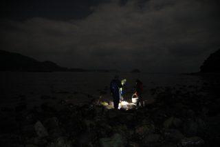 宵漁り体験の写真