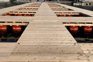 「渚の公園」が丸二水産に開設の写真